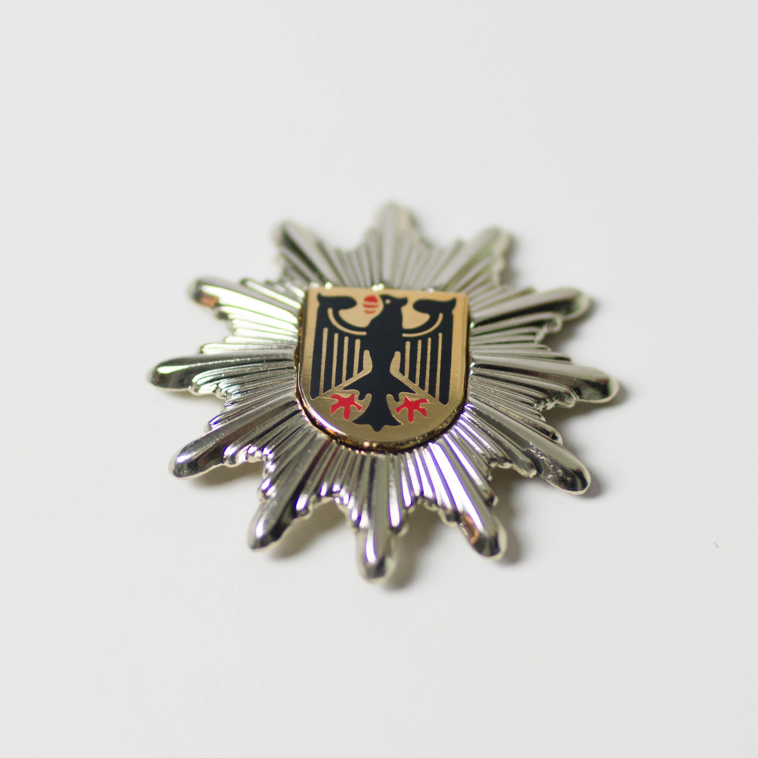 Mützenstern – Bundespolizei